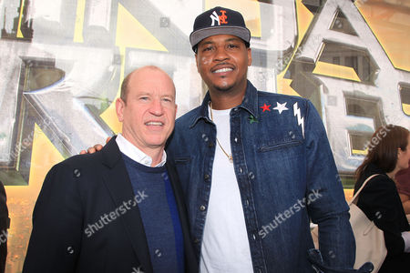 Rob Moore and Carmelo Anthony