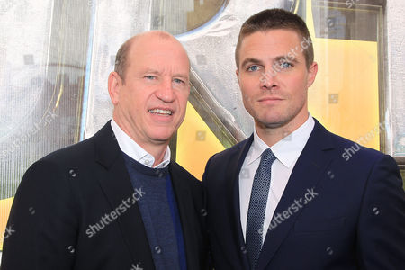 Rob Moore and Stephen Amell