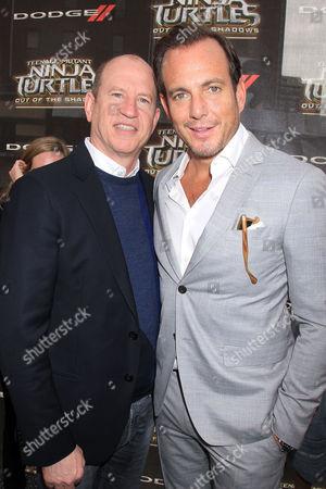 Rob Moore and Will Arnett