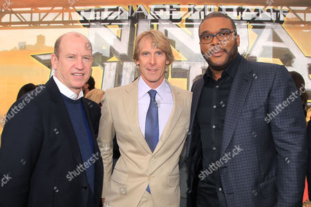 Rob Moore, Michael Bay and Tyler Perry