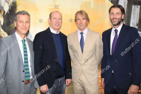 Brad Fuller, Rob Moore, Michael Bay and Andrew Form