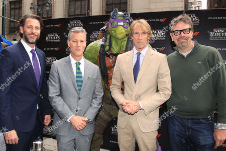 Andrew Form, Brad Fuller, Michael Bay and Marc Evans