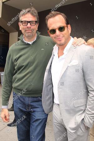 Marc Evans and Will Arnett