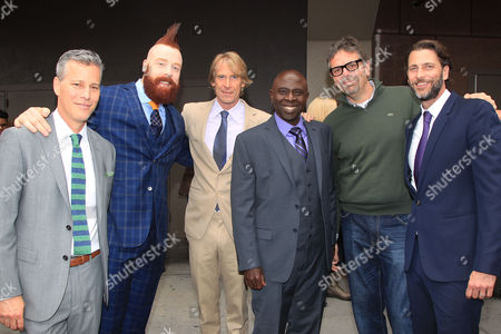 "Brad Fuller, Stephen "" Sheamus "" Farrelly, Michael Bay, Gary Anthony Williams, Marc Evans, Andrew Form"