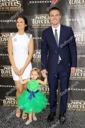 Cassandra Jean, Daughter, Stephen Amell