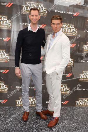 Jeremy Howard and Pete Ploszek