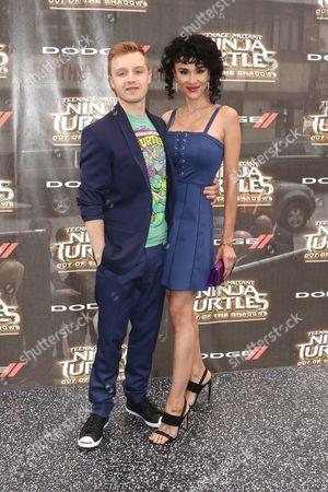 Noel Fisher and Layla Alizada