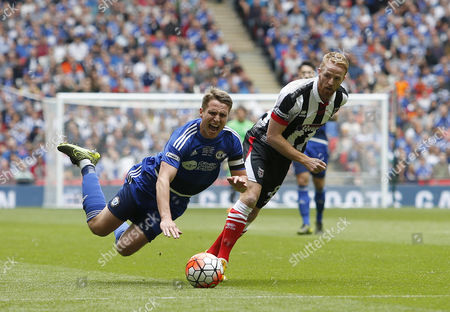 Editorial picture of The FA Trophy 2015/16 Final Halifax Town v Grimsby Town Wembley Stadium, Wembley, London, United Kingdom - 23 May 2016
