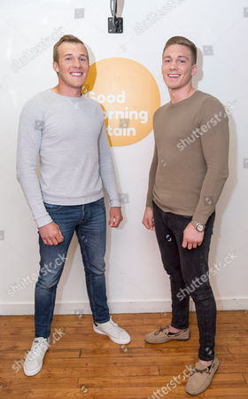 Stock Picture of Nick Blackwell and Dan Blackwell