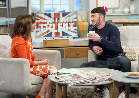 Editorial picture of 'Lorraine' TV show, London, Britain - 23 May 2016
