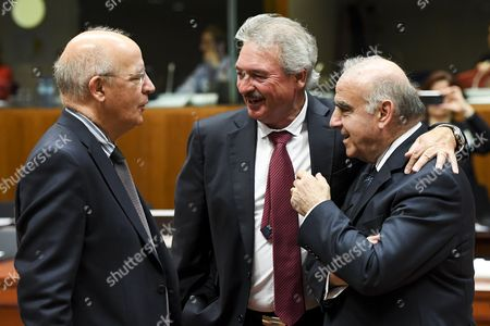 Augusto Santos Silva, Jean Asselborn, George Vella