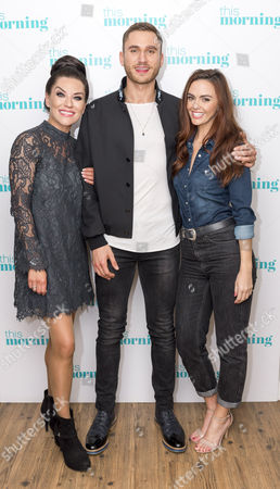Jennifer Metcalfe, Zoe Lucker and Charlie Clapham