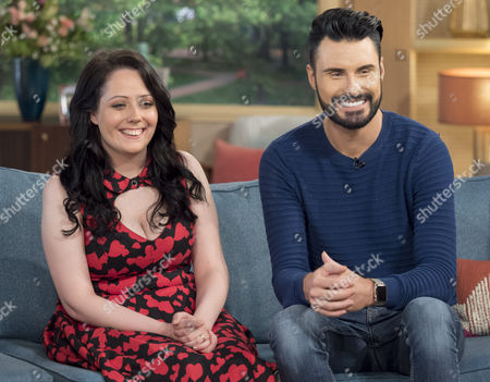 Stock Image of Kathleen Jenkins and Rylan Clark