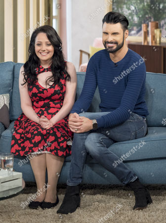 Stock Picture of Kathleen Jenkins and Rylan Clark