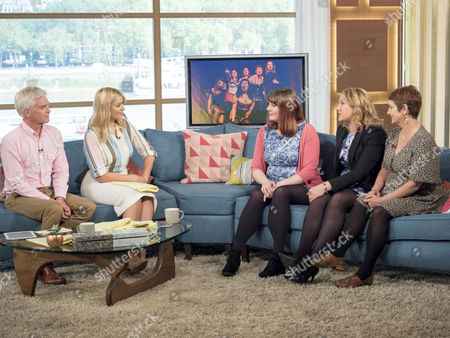 Phillip Schofield, Holly Willoughby, Siobhan Knox, Charlotte Rose, Rachel Burley