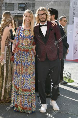 Eleonora Abbagnato and Federico Balzaretti
