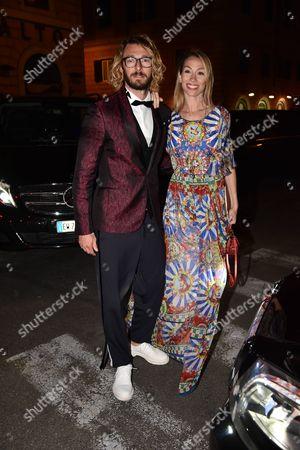 Federico Balzaretti and Eleonora Abbagnato