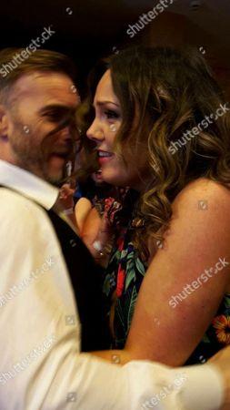 Gary Barlow surprising Jill Campbell