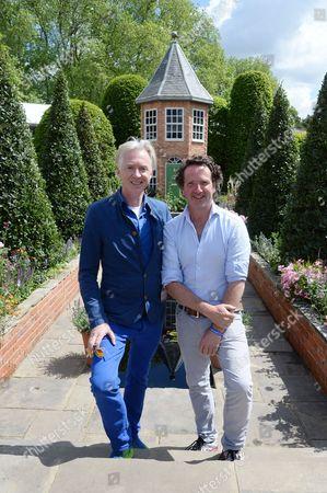 Philip Treacy and Diarmuid Gavin