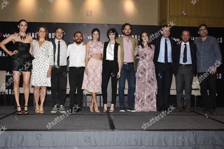 Olga Segura, Claudette Maillé, Noe Hernandez, Stephanie Cayo, Paz Vega, Manolo Cardona, Carlos Bolado