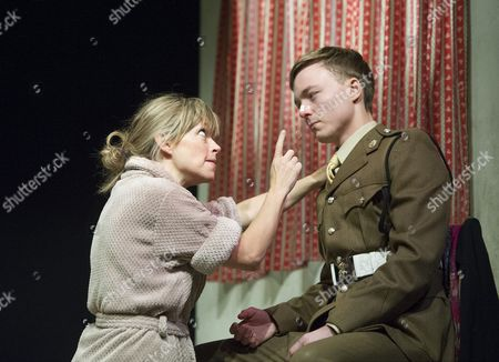 Joseph Prowen as Private Crawford, Sarah Alexander as Hayley Morrison