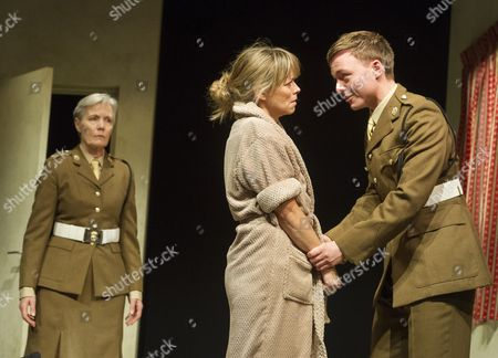 Jane Wymark as Major Dawlish, Sarah Alexander as Hayley Morrison, Joseph Prowen as Private Crawford