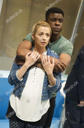 Lisa McGrillis as Lisa, Ashley Zhangazha as Jamie
