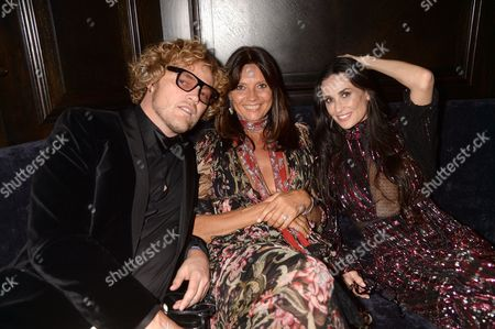 Peter Dundas, Countess Debonnaire von Bismarck and Demi Moore