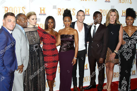 Editorial image of 'Roots' TV series premiere, New York, America - 23 May 2016