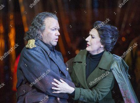 Sarah Connolly as Jocaste, Johan Reuter as Oedipe