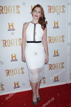 Editorial picture of 'Roots' TV series premiere, New York, America - 23 May 2016