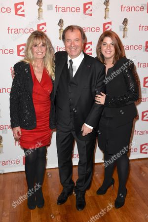 Daniel Russo with wife Lucie and daughter Charlotte