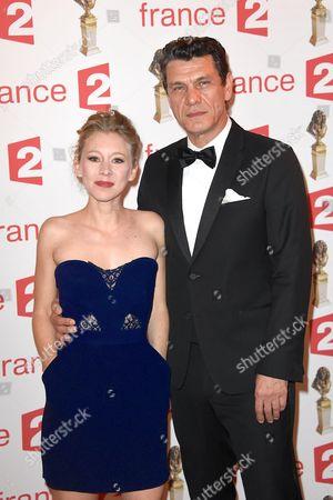Geraldine Martineau and Marc Lavoine
