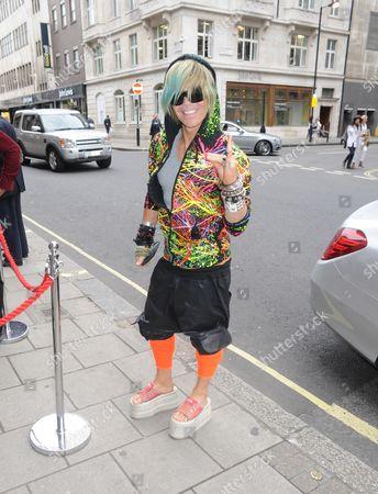 Editorial photo of Cruz Bueno Catwalk Show, London, Britain - 19 May 2016