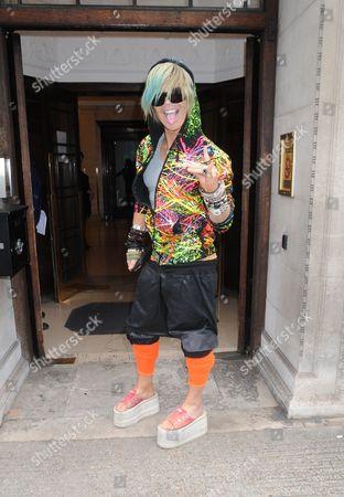 Editorial image of Cruz Bueno Catwalk Show, London, Britain - 19 May 2016