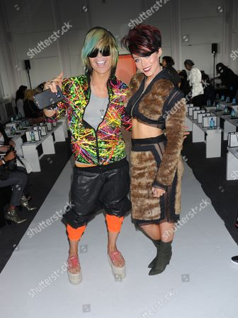 Stock Photo of Ian Erix and Hatty Keane