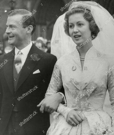 Wedding Of Miss Judith Nelson To The 8th Earl Bathurst. Box 634 713101545 A.jpg.