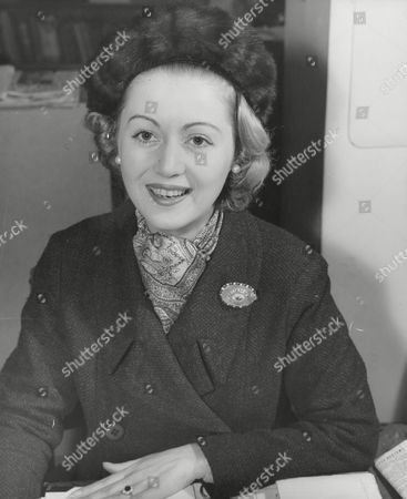 Miss Judith Nelson Whose Engagement To The 8th Earl Bathurst Was Announced Today. Box 634 713101547 A.jpg.