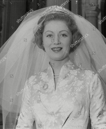 Countess Bathurst (nee: Judith Nelson) After Her Wedding To The 8th Earl Bathurst. Box 634 713101546 A.jpg.