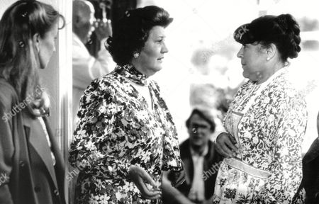 Tv Programme: First And Last. L-r: Laura Davenport (sandra) Patricia Routledge (ivy) And Pat Heywood (audrey). Box 634 813101515 A.jpg.