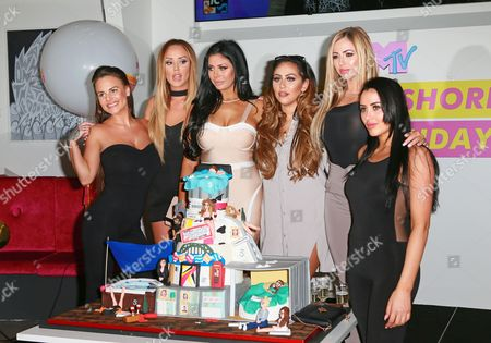Charlotte Crosby, Holly Hagan, Chloe Etherington, Chantelle Connelly, Marnie Simpson, Sophie Kasaei of Geordie Shore
