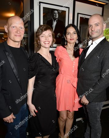 Dominic Burns, Camilla Rutherford, Yasmin Mills and Justin Horne