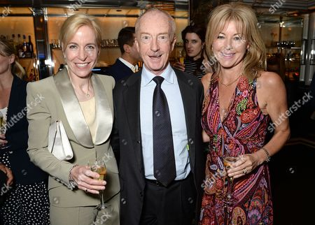 Stock Image of Maria Witchell, Nicholas Witchell and Emma Willis