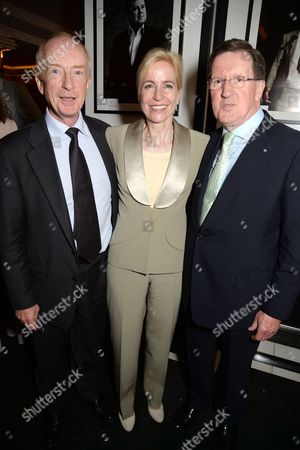 Stock Picture of Maria Witchell, Nicholas Witchell and Lord George Robertson