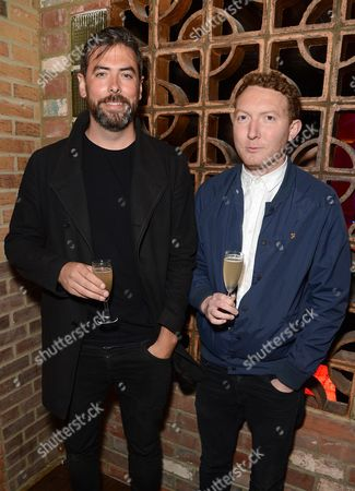 Stock Photo of Paul Dugdale and Bartleby Logan
