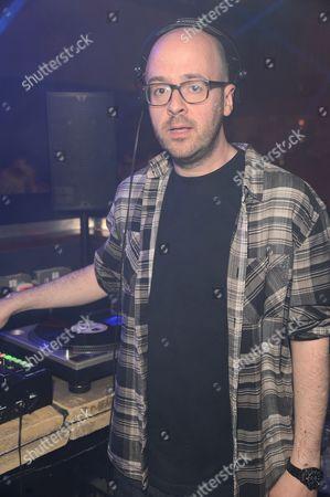 Stock Photo of Seb Chew Polydor record executive