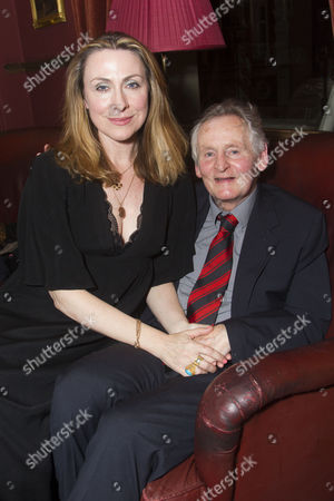 Stock Photo of Stella Feehily (Author) and Max Stafford-Clark (Director)