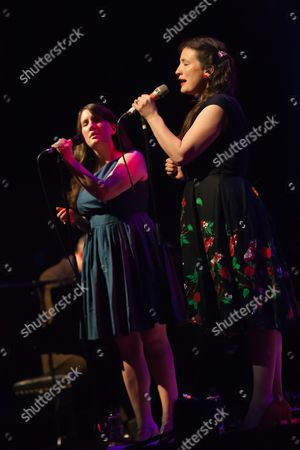 Stock Photo of Becky Unthank and Rachel Unthank - The Unthanks