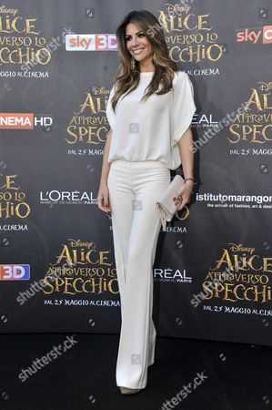 Editorial picture of 'Alice Through The Looking Glass' film premiere, Milan, Italy - 24 May 2016