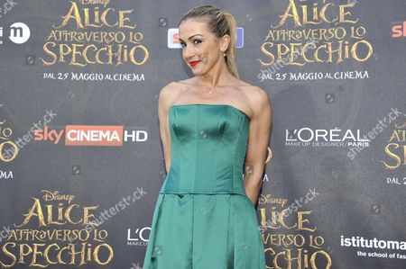 Editorial image of 'Alice Through The Looking Glass' film premiere, Milan, Italy - 24 May 2016